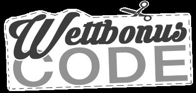 wettbonus code logo in schwarz weiß